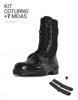 Kit Coturno Atalaia Amazonas - Extra Leve + 7 pares de meia